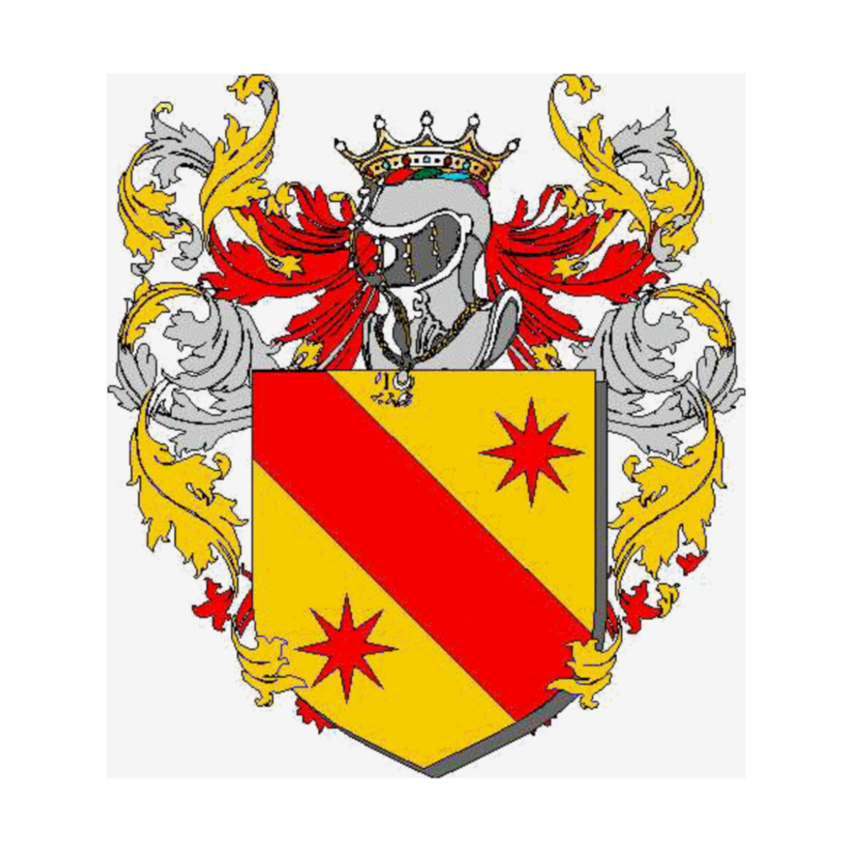 Coat of arms of family Solava