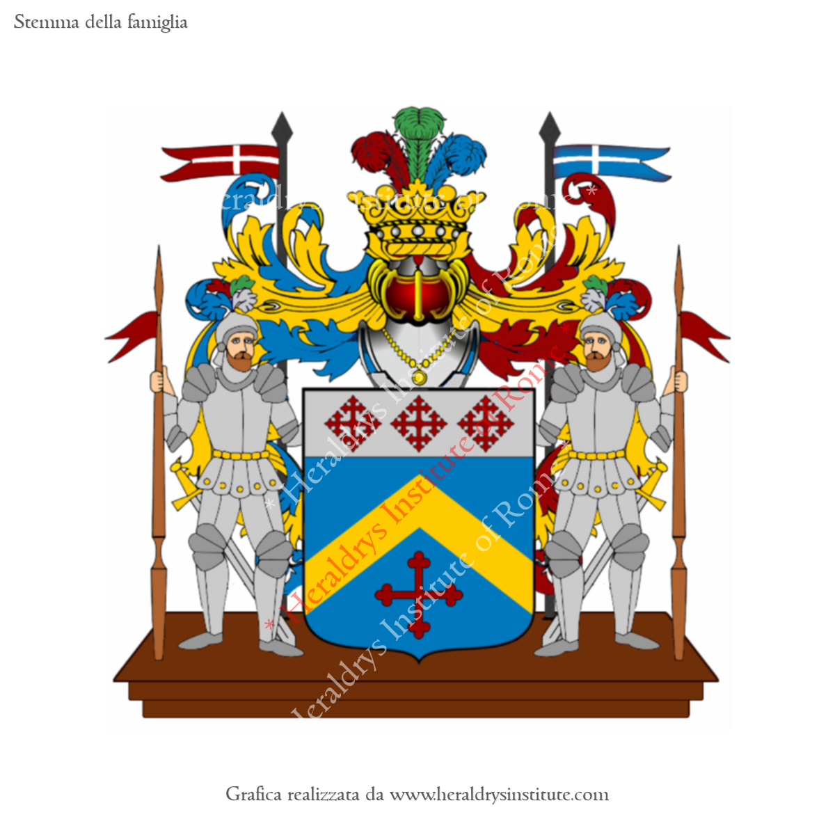 Coat of arms of family Solitta