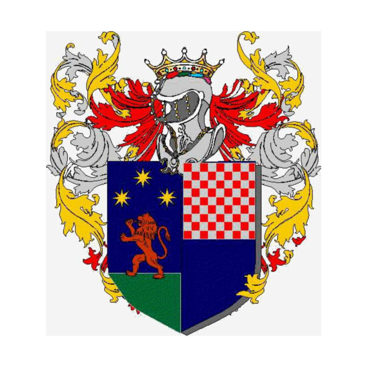 Coat of arms of family Prisco
