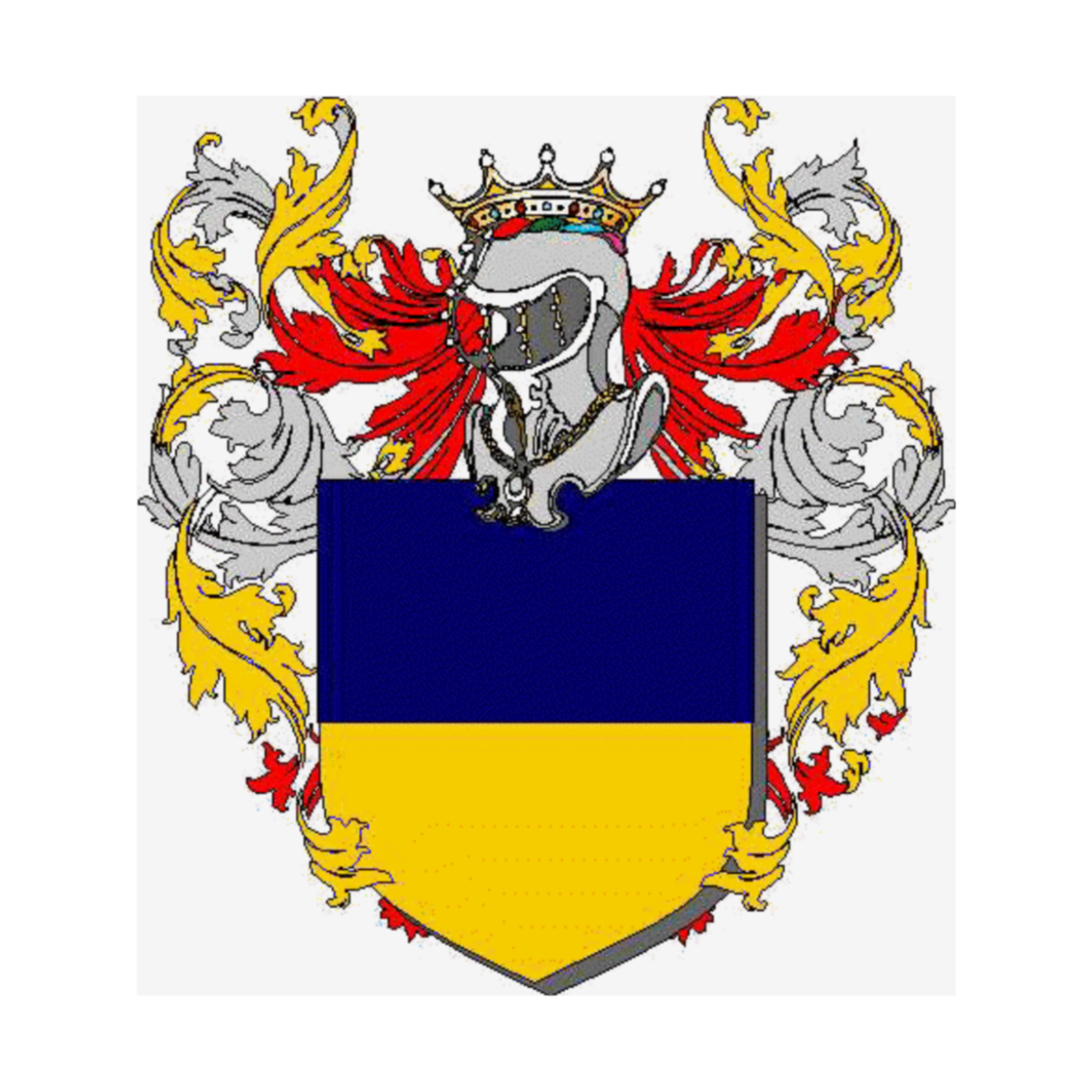 Coat of arms of family Trentina
