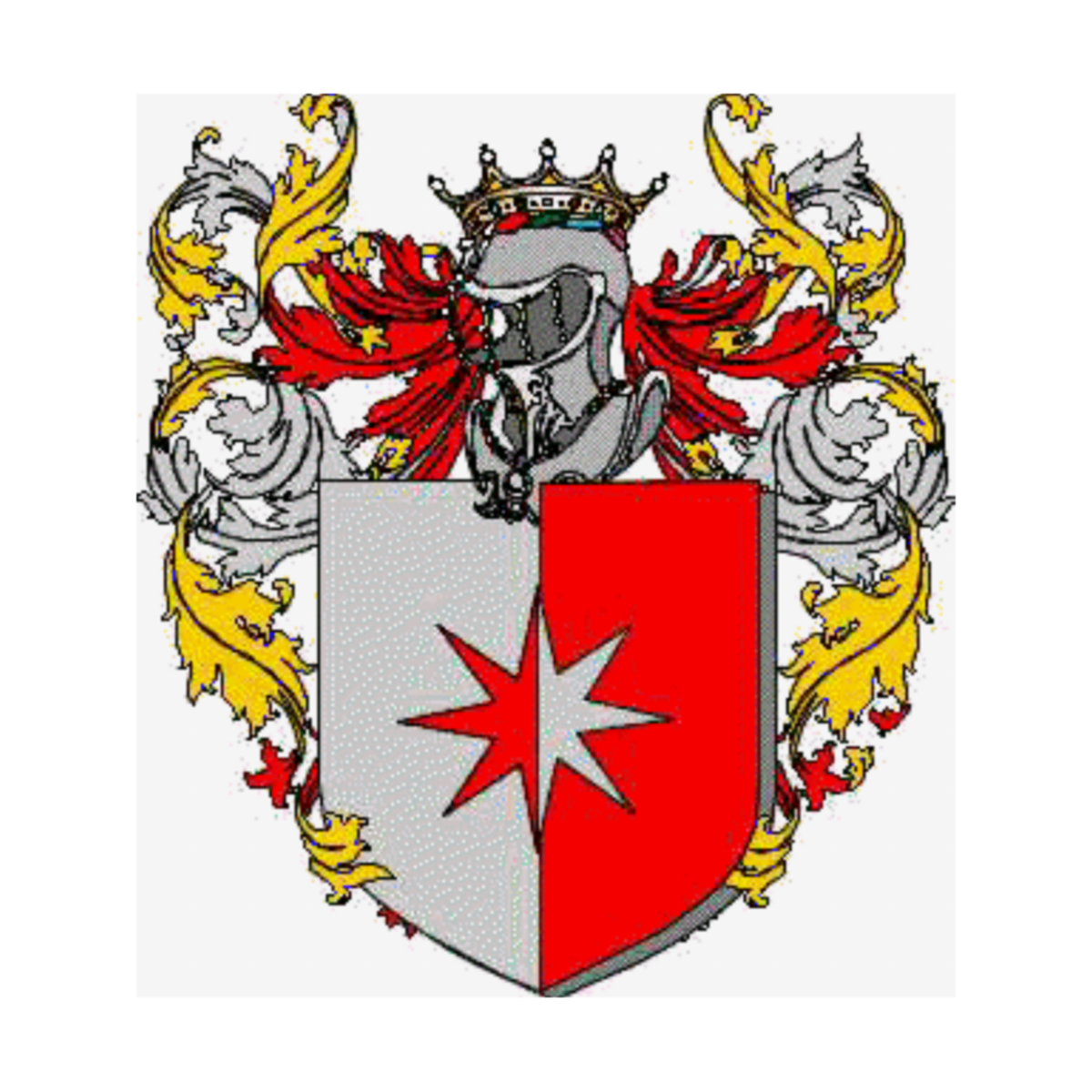 Coat of arms of family Itallia