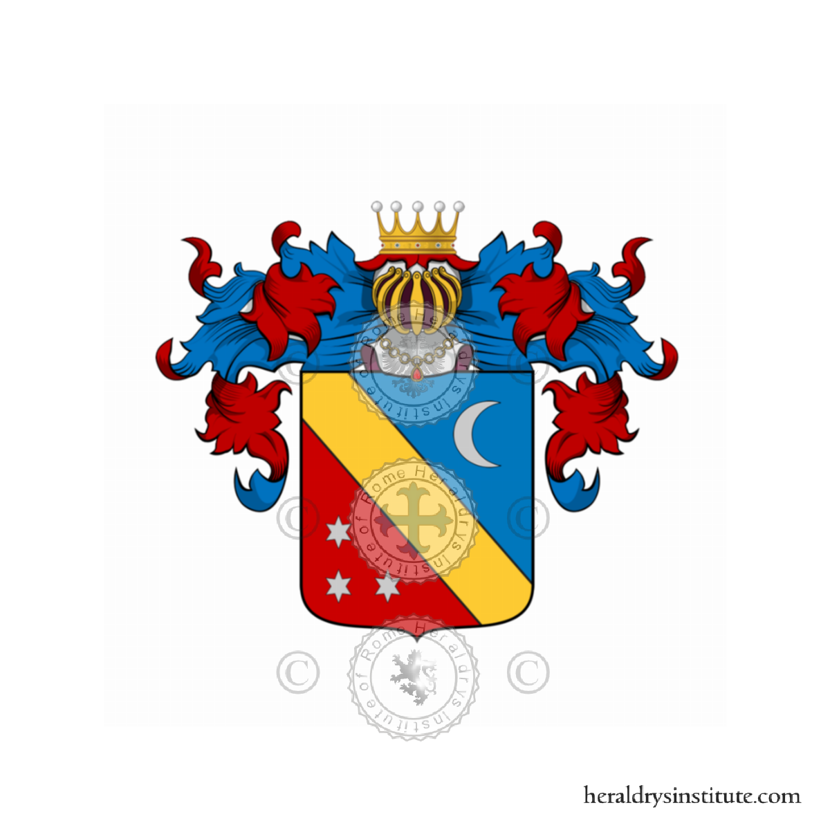 Coat of arms of family Campolungo