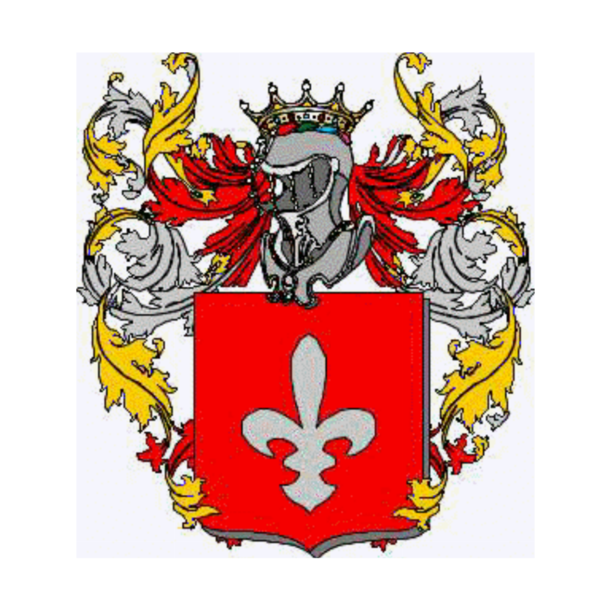 Coat of arms of family Agona