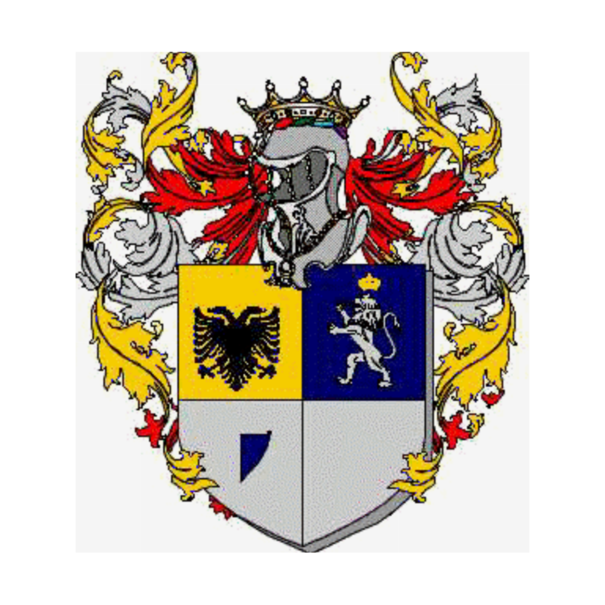 Coat of arms of family Zaghini