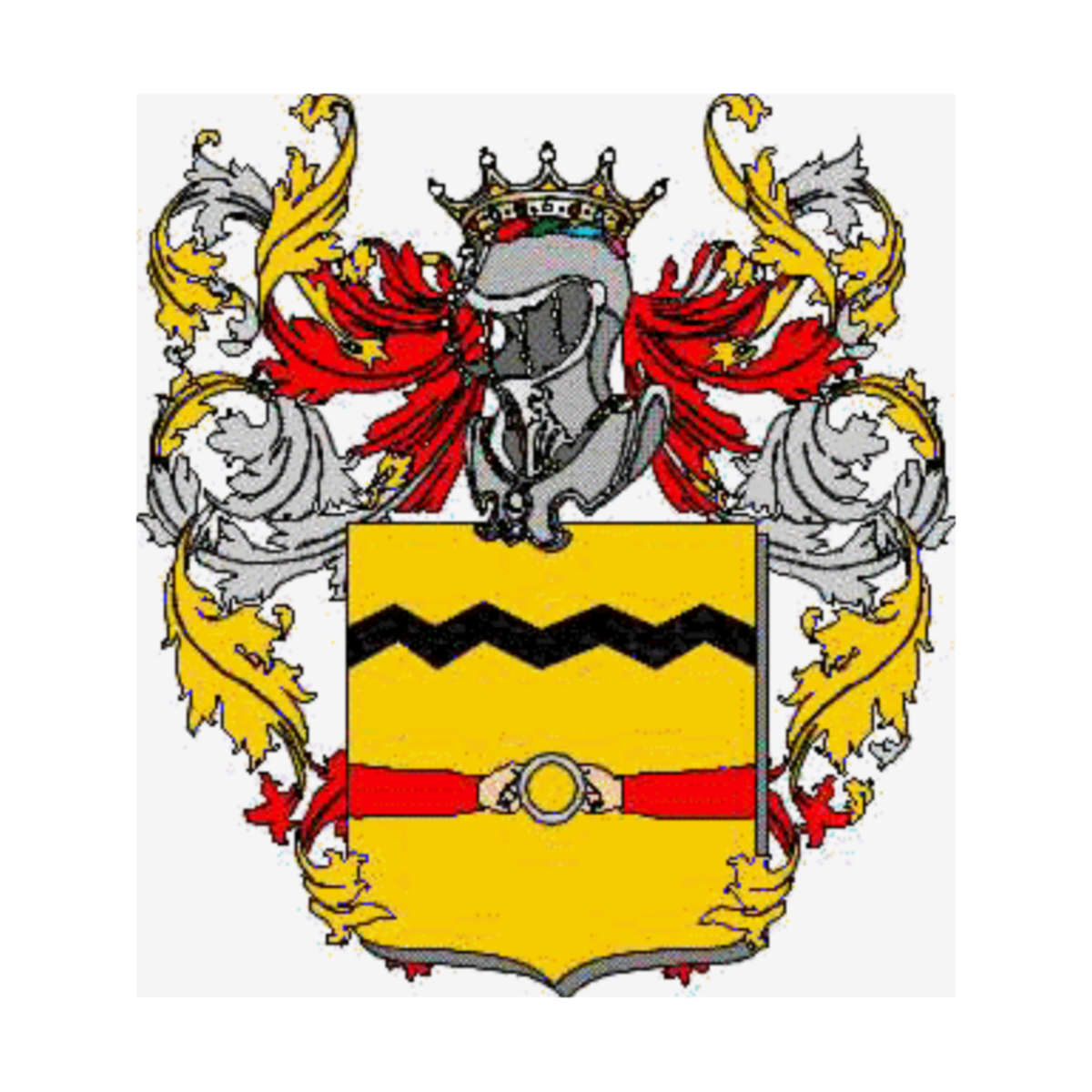 Coat of arms of family Falotto
