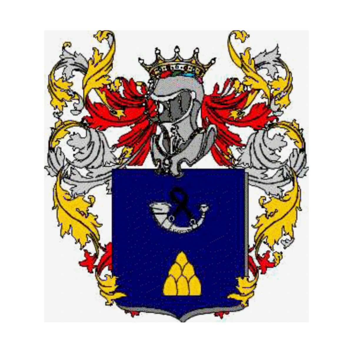 Coat of arms of family Smiglio