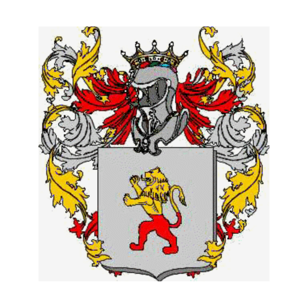 Coat of arms of family Priano