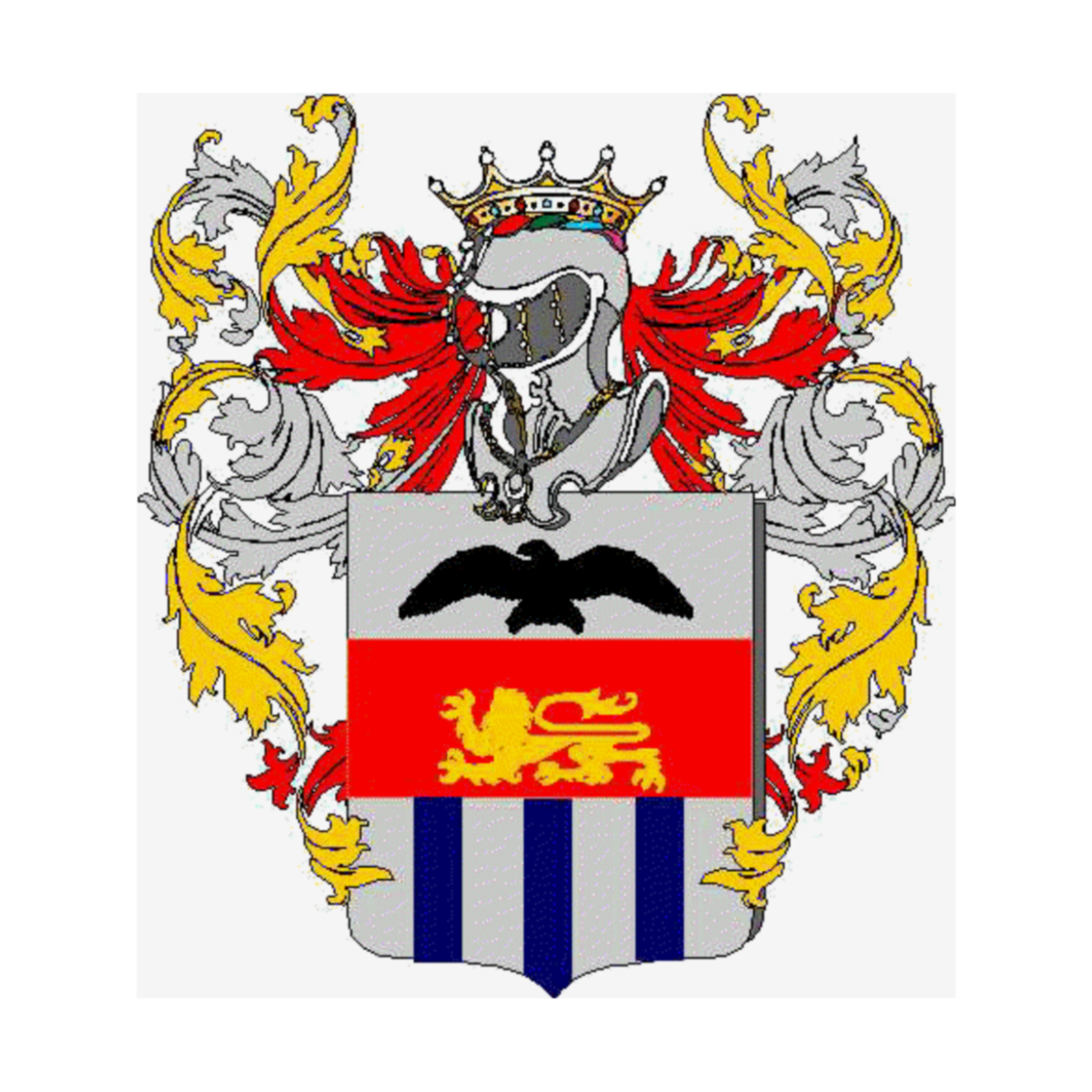 Coat of arms of family Zampolo