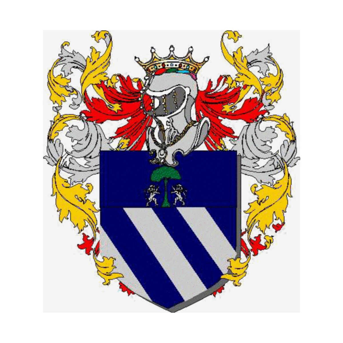 Coat of arms of family Zatiri