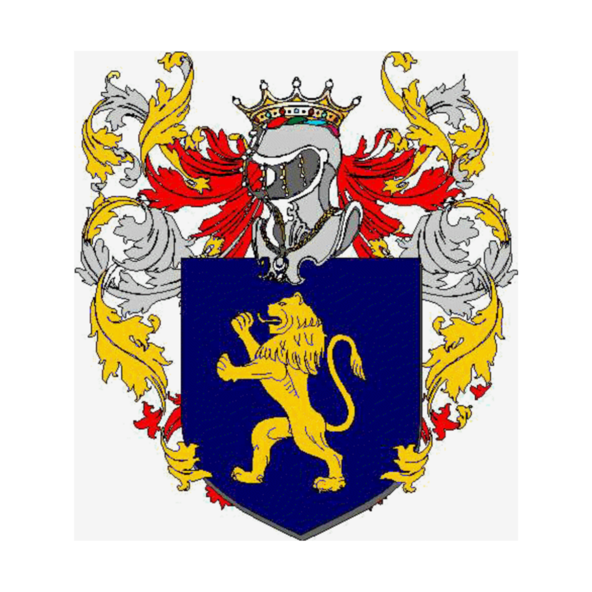 Coat of arms of family Zammaretti