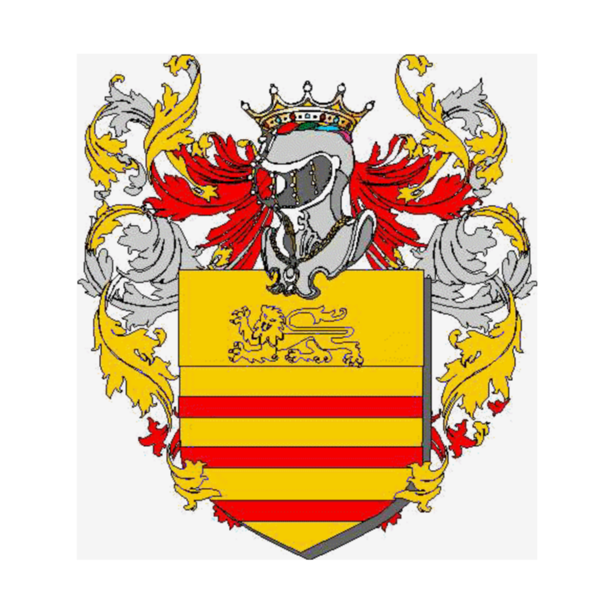 Coat of arms of family Smontano