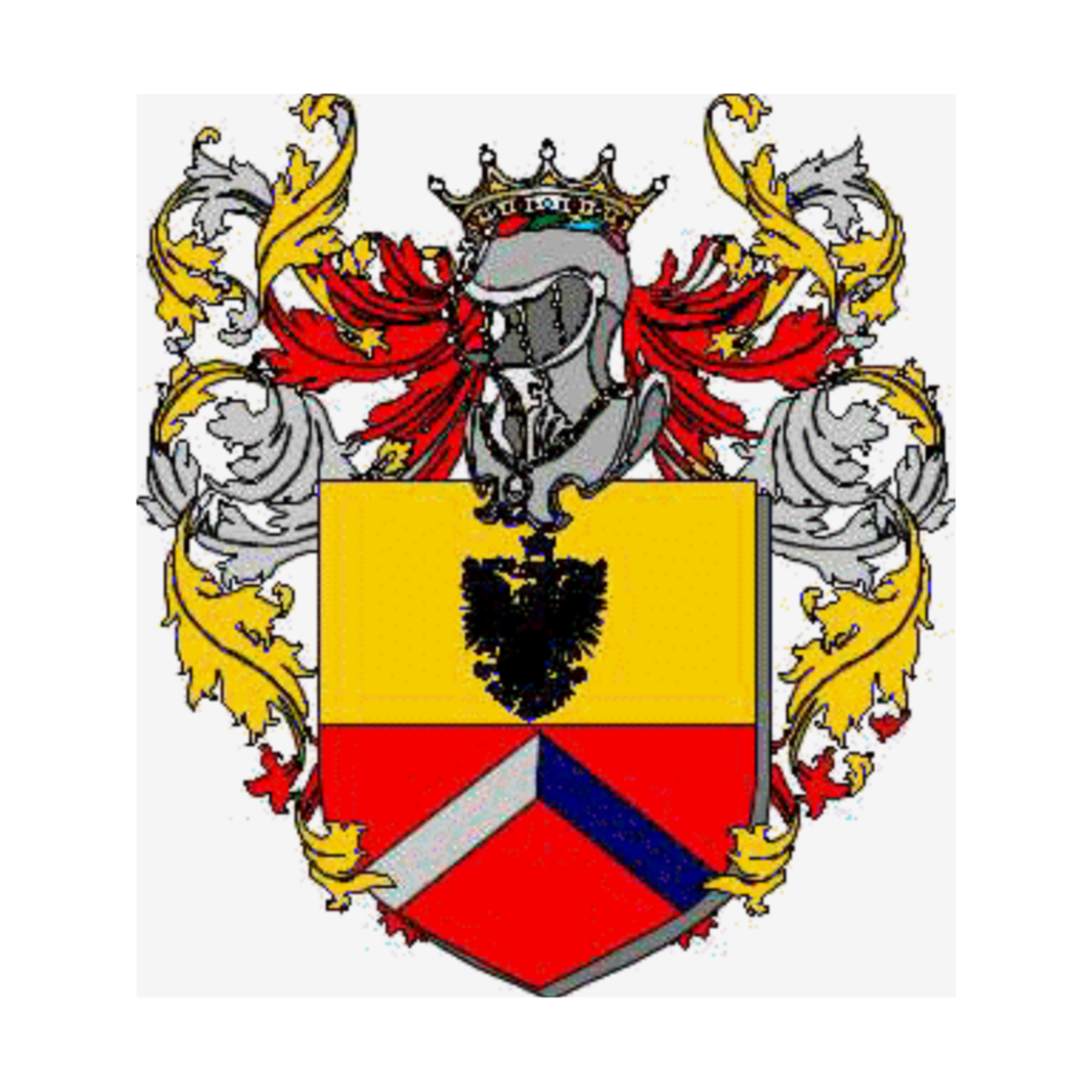 Coat of arms of family Fagianelli