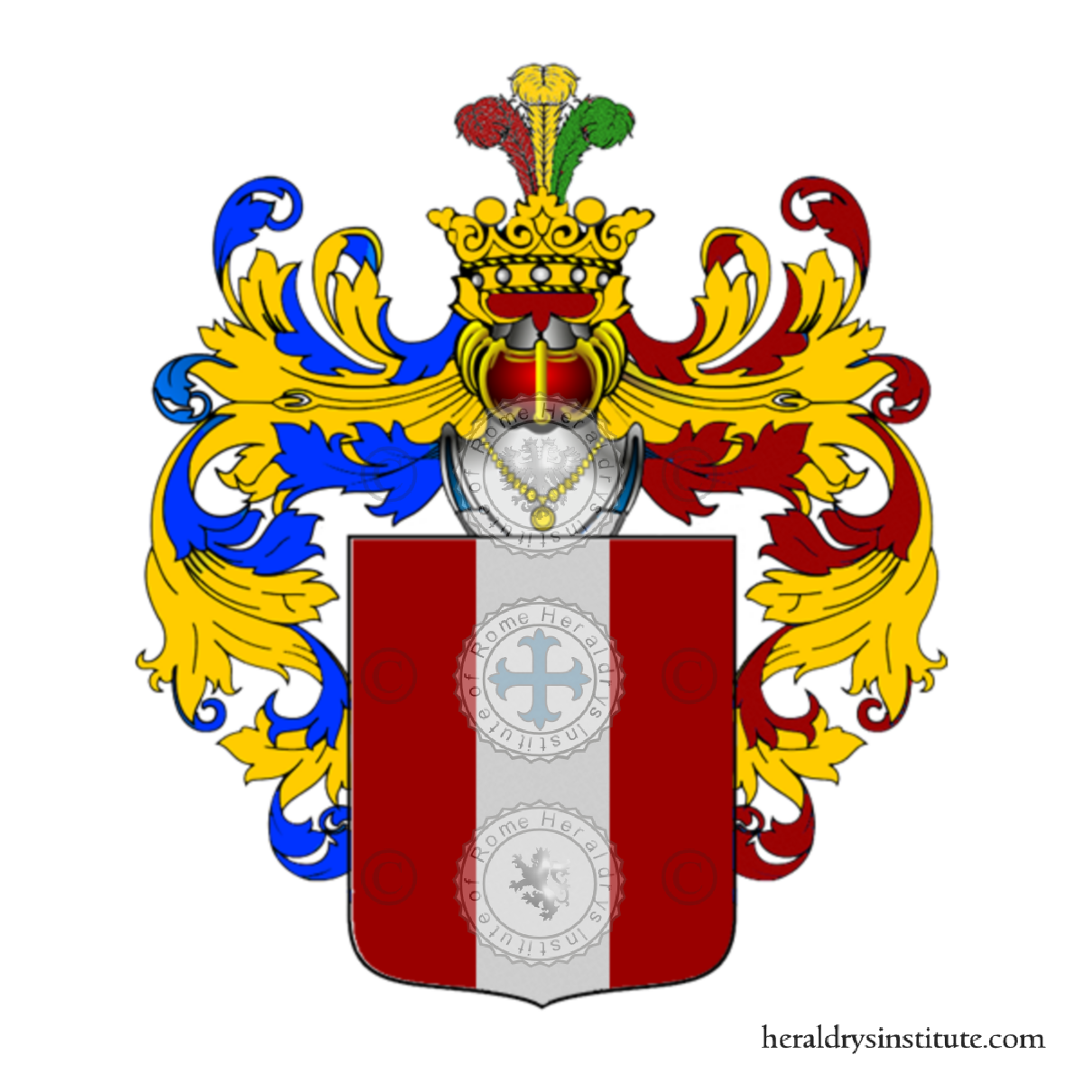 Coat of arms of family Fanali