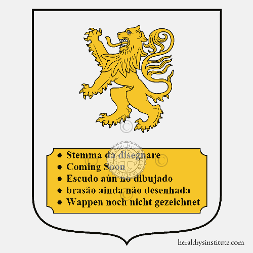 Coat of Arms of family Guenzani