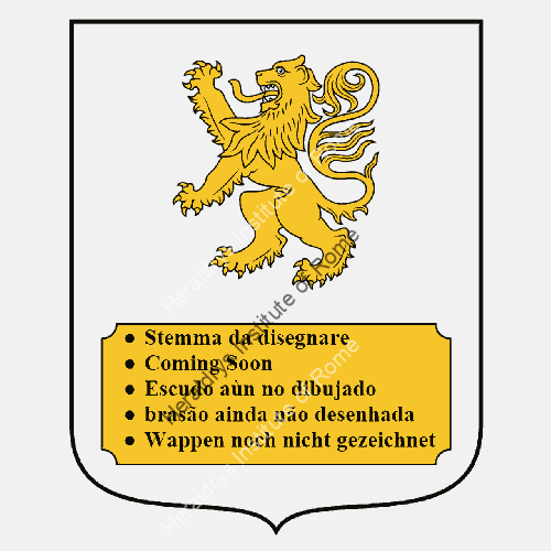Coat of Arms of family Palella