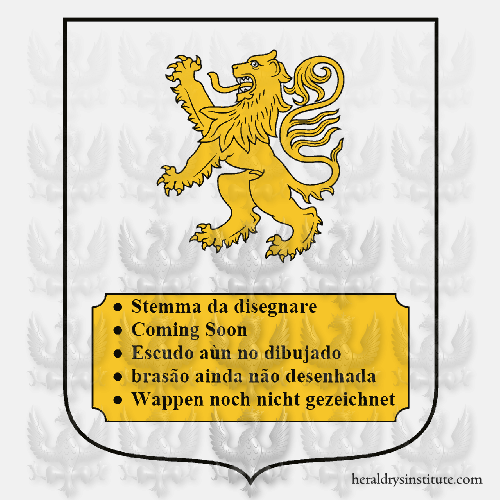Coat of Arms of family Posarich