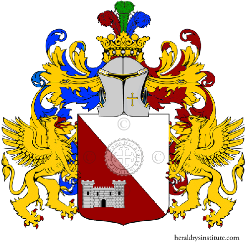 Coat of arms of family Legrotte