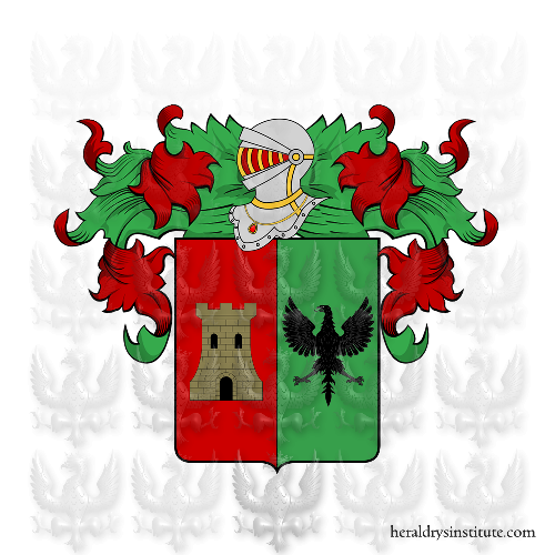 Coat of Arms of family Panielli