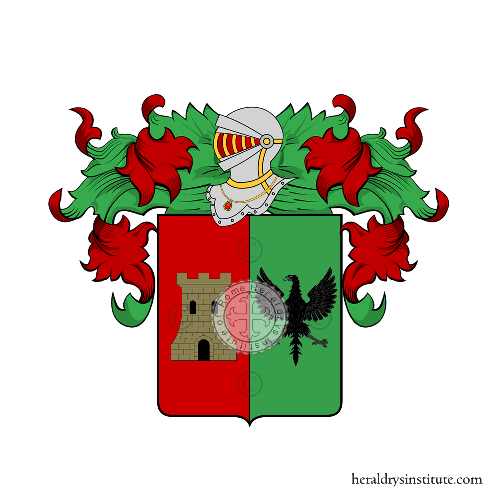 Coat of Arms of family Pulcinelli