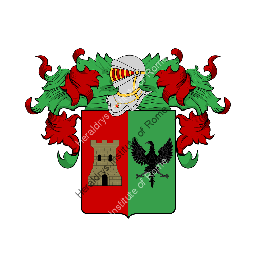 Coat of Arms of family Pupa