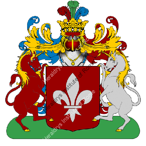 Coat of Arms of family Panerecchi
