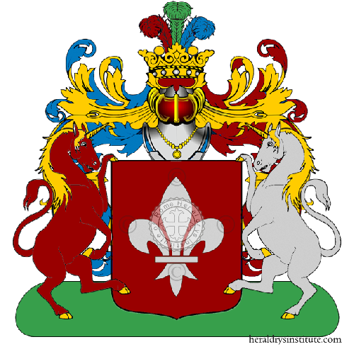 Coat of Arms of family Tusano