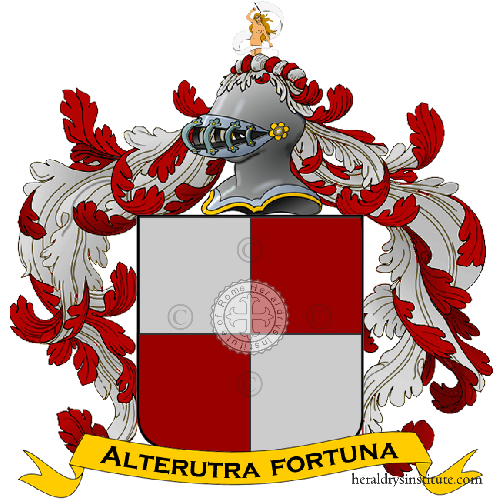 Coat of arms of family Epifano
