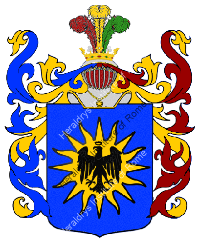 Coat of Arms of family Palvino