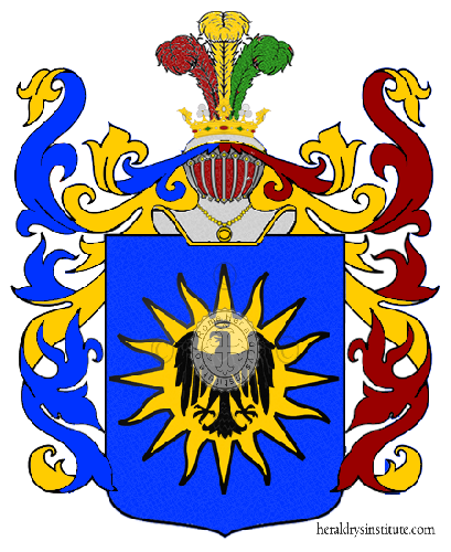 Coat of Arms of family Salvina