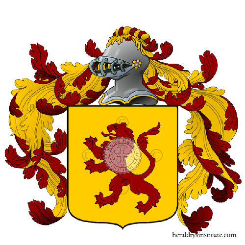 Coat of Arms of family Tortina