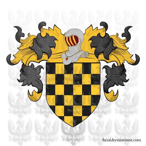 Coat of Arms of family Pezzarella