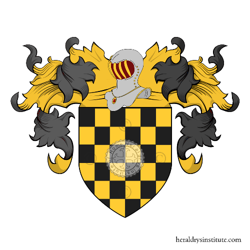 Coat of Arms of family Pezzarossa