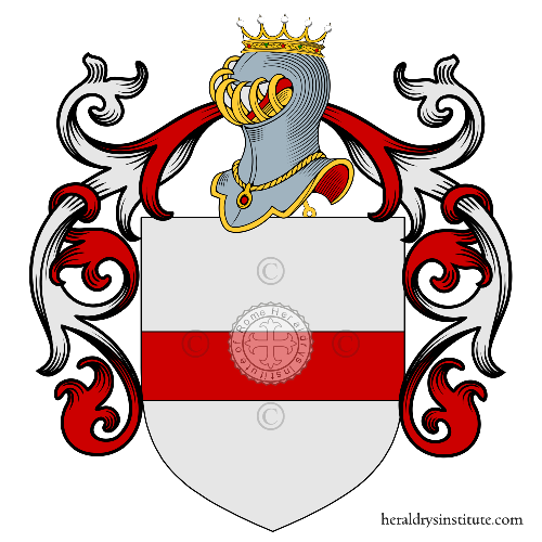 Coat of Arms of family DALLA Ragione