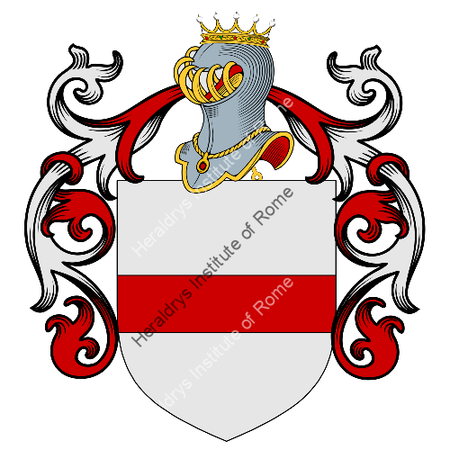 Coat of Arms of family Pontina