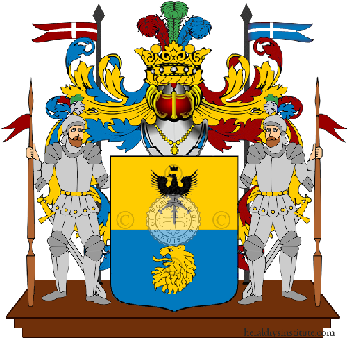 Coat of arms of family Nichi