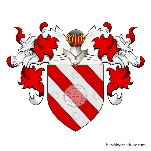 Coat of Arms of family Vergero