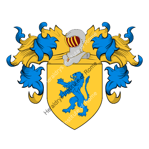 Coat of Arms of family Nandei