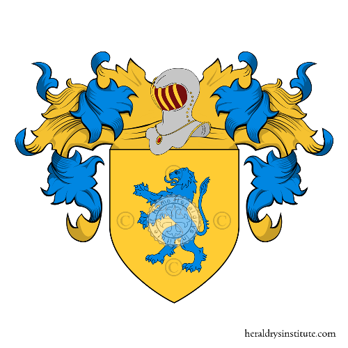 Coat of Arms of family Sande