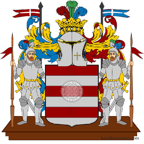 Coat of Arms of family Pasili