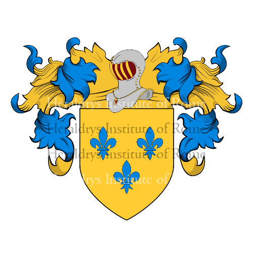 Coat of Arms of family Prida