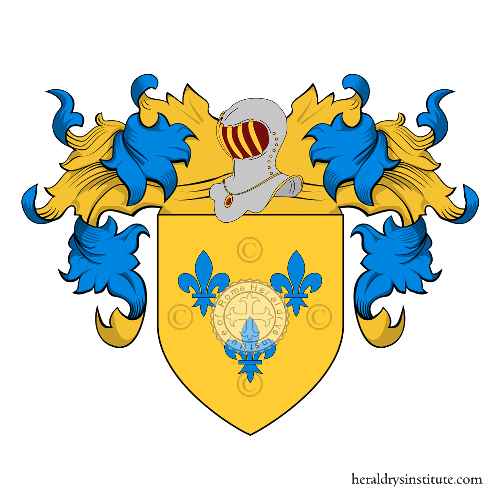 Coat of Arms of family Rida