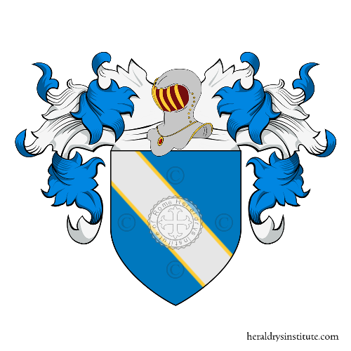 Coat of Arms of family Bressani o  Bressan