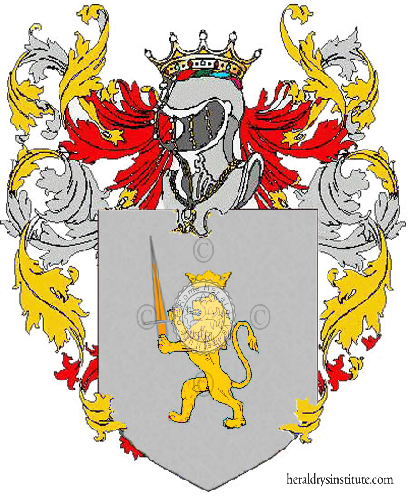 Coat of Arms of family Mondioni