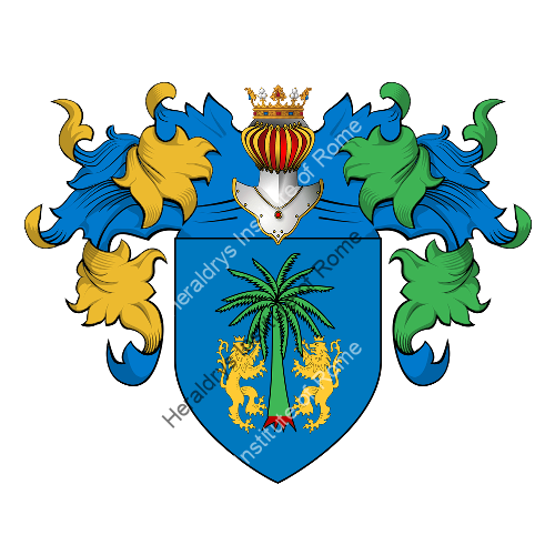 Coat of Arms of family Di Sarno