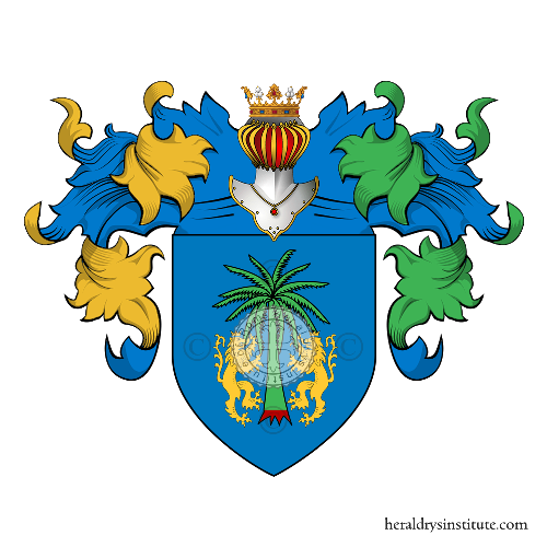 Coat of Arms of family Narno