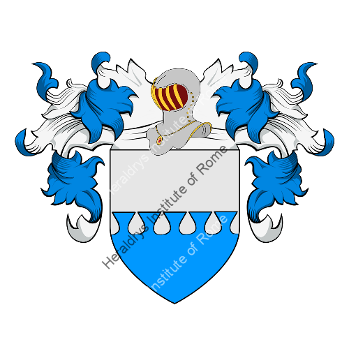 Coat of Arms of family Donzelli o Donzello