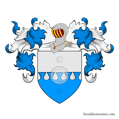 Coat of Arms of family Tonzelli