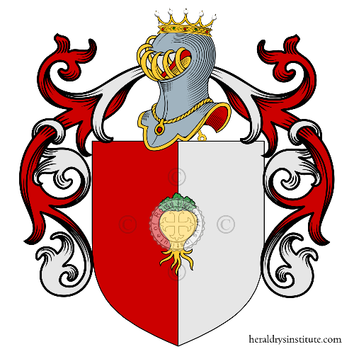 Coat of Arms of family Pavanelli
