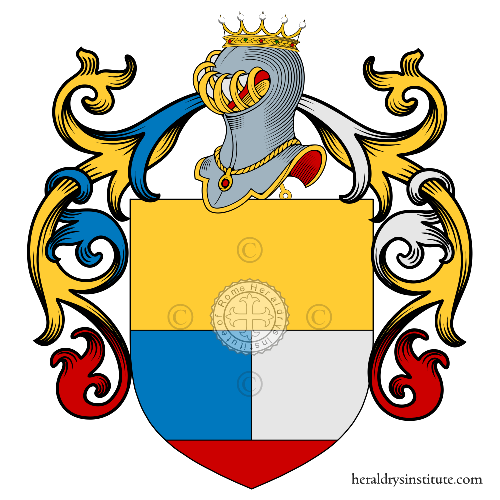 Coat of Arms of family Ortelli