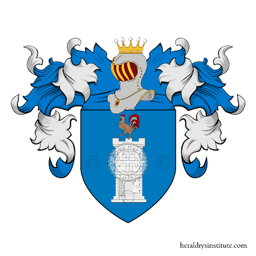 Coat of Arms of family Tirillo